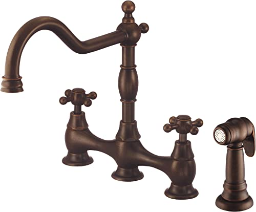 DANZE D404457BR Kitchen Faucet, Tumbled Bronze