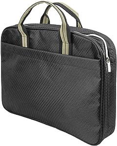Top Handle Portable Business Briefcase Bag Envelope Expanding File Folder Laptop Bag Portfolio Document Tablet Holder Organizer Oxford Fabric Office Meetings Travel Carrying Handbag Case Tote Bag