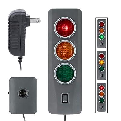 CICMOD Parking Assistant Sensor System for Home Garage, Car Park Assist LED Safe-Light Stop Indicators Beep Alerts: Automotive