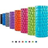 Syourself Foam Roller da massaggio-33cmx14cm-Qualità Superiore-Rullo per riabilitazione, crossfit, yoga e pilates, punti di innesco per il tessuto profondo massaggio e il rilascio miofasciale+Borsa