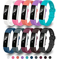 GreenInsync Fitbit Alta Bands, Fitbit Alta Accessory Replacement Band Small/Large for Fitbit Alta&Alta HR/Fitbit Ace Wristbands Available in 18 Colors with Metal Clasp and Ultrathin Fastener