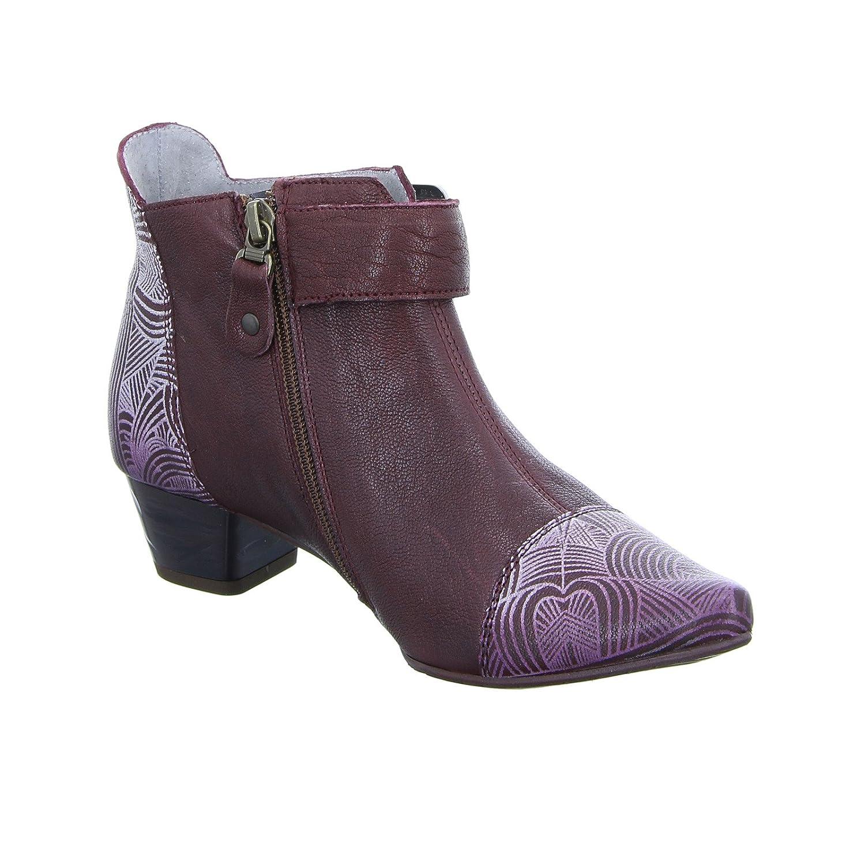 ... Maciejka Damen 03138-23 Damen Maciejka Stiefelette Ankle-Stiefel Leder  Bordeaux Rot ... 76c3946c0f
