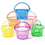 Bright Round Plastic Baskets