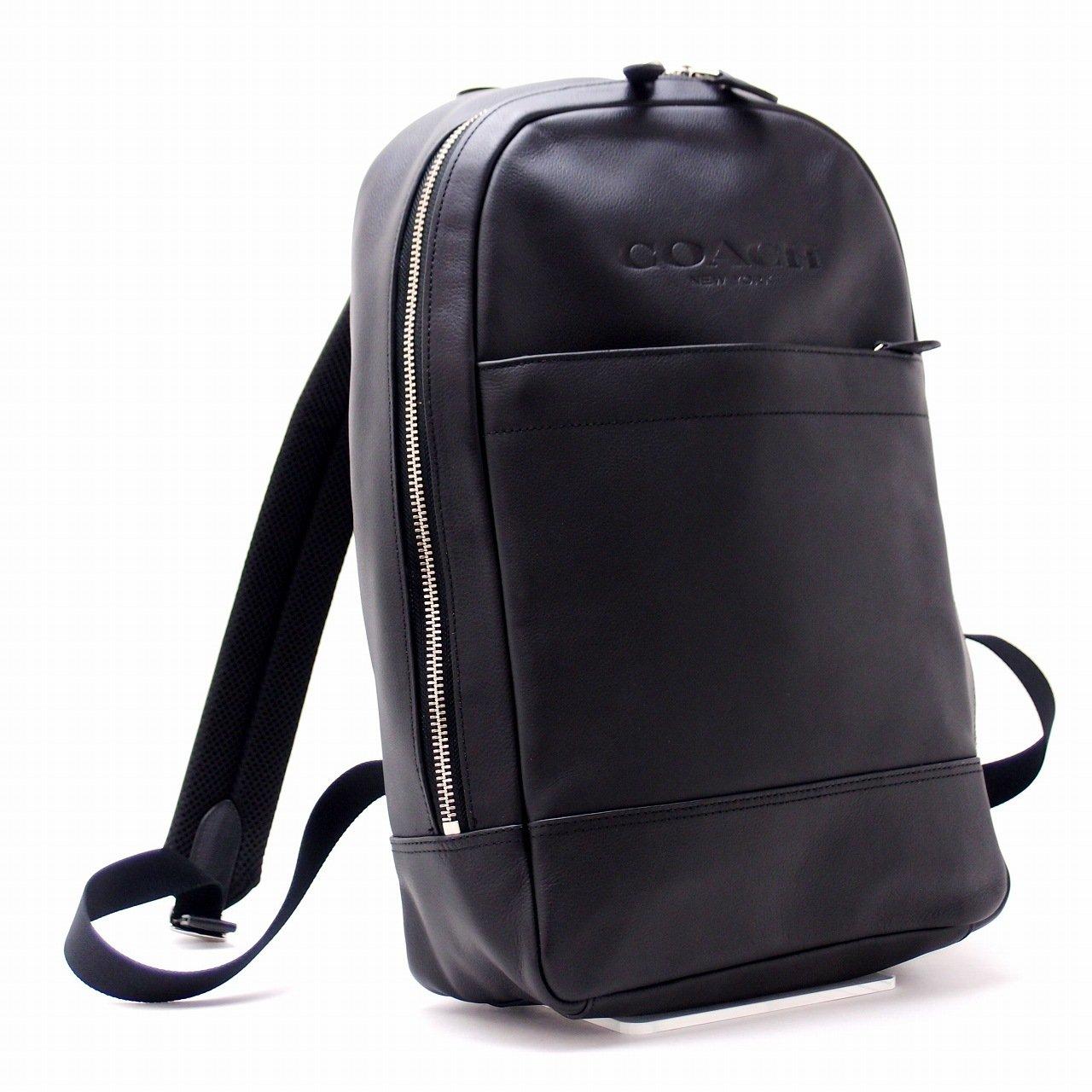 コーチ バッグ メンズ ショルダーバッグ バックパック リュック 54135BLK [アウトレット品] [並行輸入品] B077761JGK