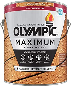 Olympic Stain 79551 Maximum Wood Stain and Sealer