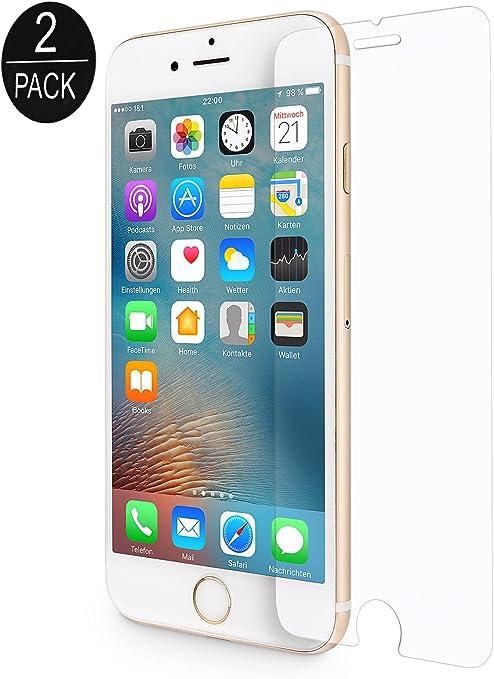Wiiuka Panzerglas Protect Für Apple Iphone 8 Plus Computer Zubehör