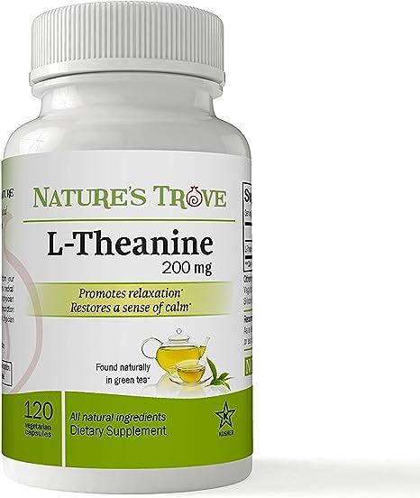 Imagen deNatures Trove L-teanina 200 mg 120 cápsulas vegetales