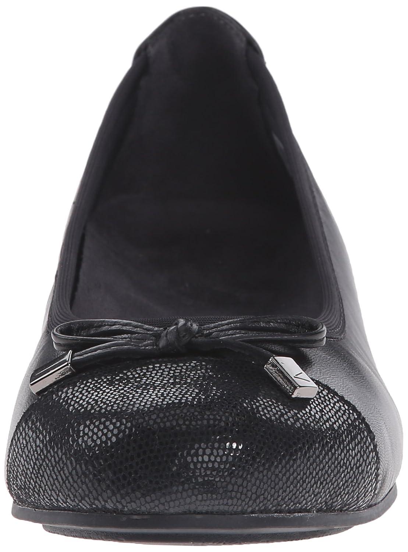 Vionic Women's Spark 7.5 Minna Ballet Flat B00SK697O6 7.5 Spark B(M) US|Black fceaf6