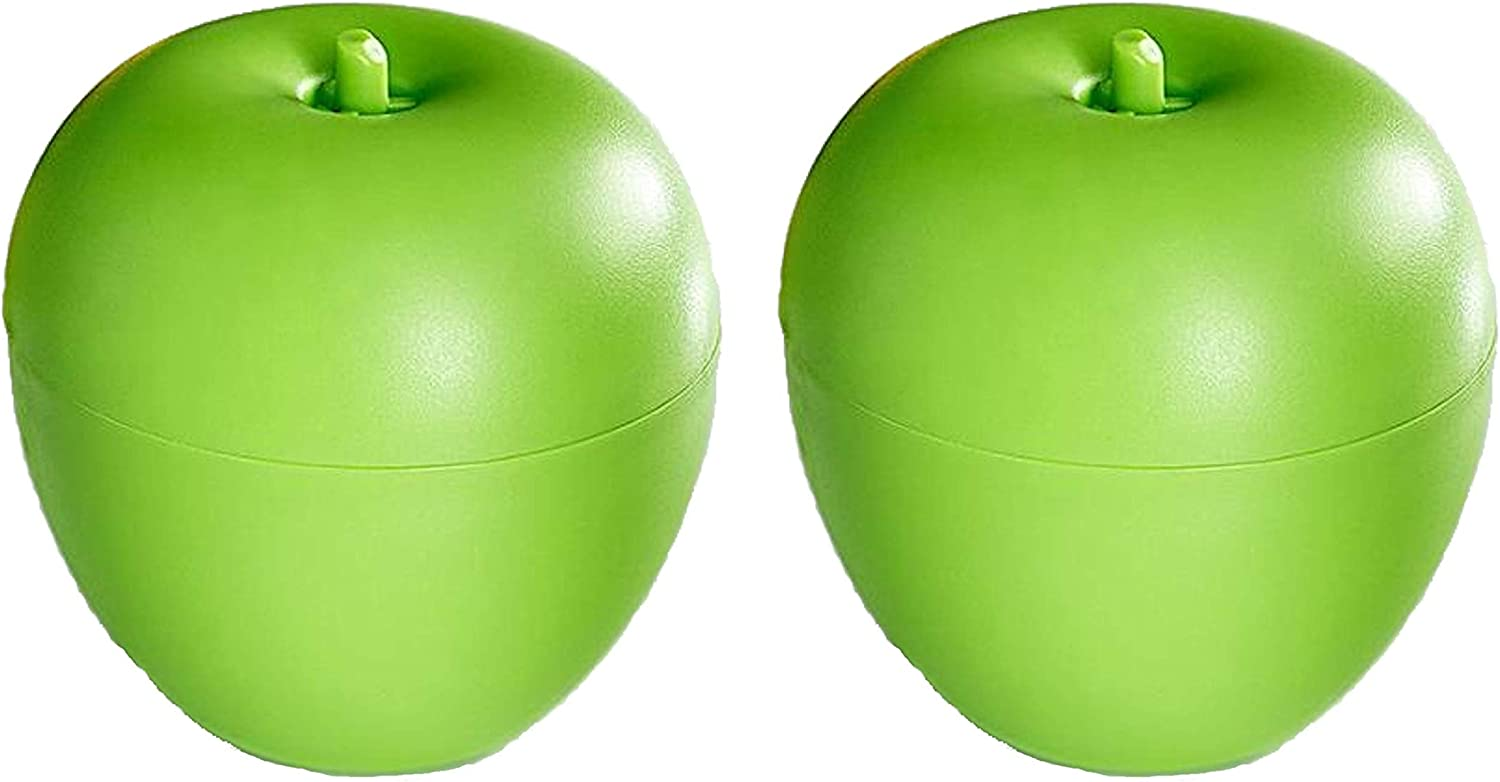 2 Pack Green Apple Fruit Fly Trap Pest Catcher | Safe, Non-Toxic with No Insecticides or Odor, Eco Friendly,