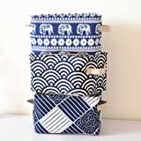 Finance Plan Linen Cotton Cosmetic Storage