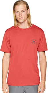 f0bf8fa67a3c2 Quiksilver Men s Gut Check Short Sleeve Rashguard Swim Shirt 50+ UPF