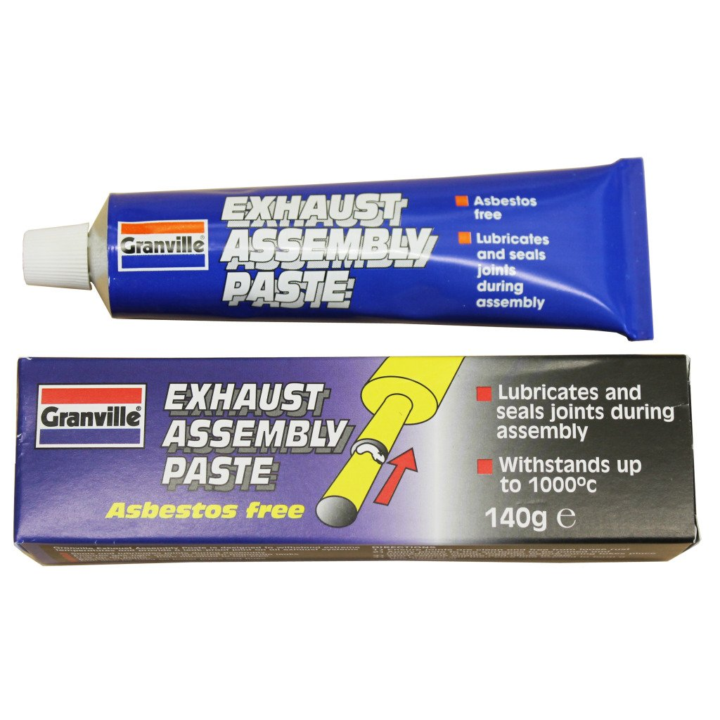 All Trade Direct 2X Exhaust Assembly Paste Larger 140G Tube Silencer Manifold Catalytic Converter
