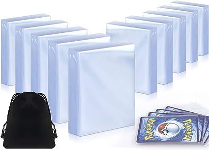 25 Card Sleeve Sleeves Toploaders Hard Case Pokemon Yugioh Magic Ultra Pro