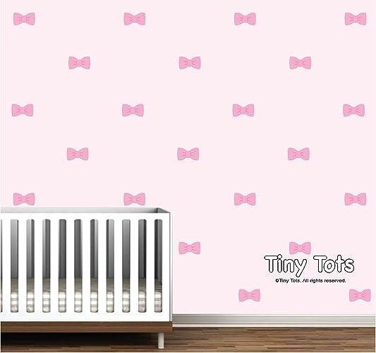 Amazon.com: Bow Wall Stickers-Wall Decals-Nursery decor-Wall Art ...