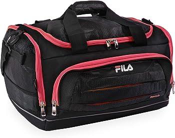 Fila Cypress Small Sport Duffel Bag (Black/Red)