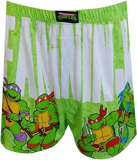 Teenage Mutant Ninja Turtles Mens Team Ninja Boxer Shorts
