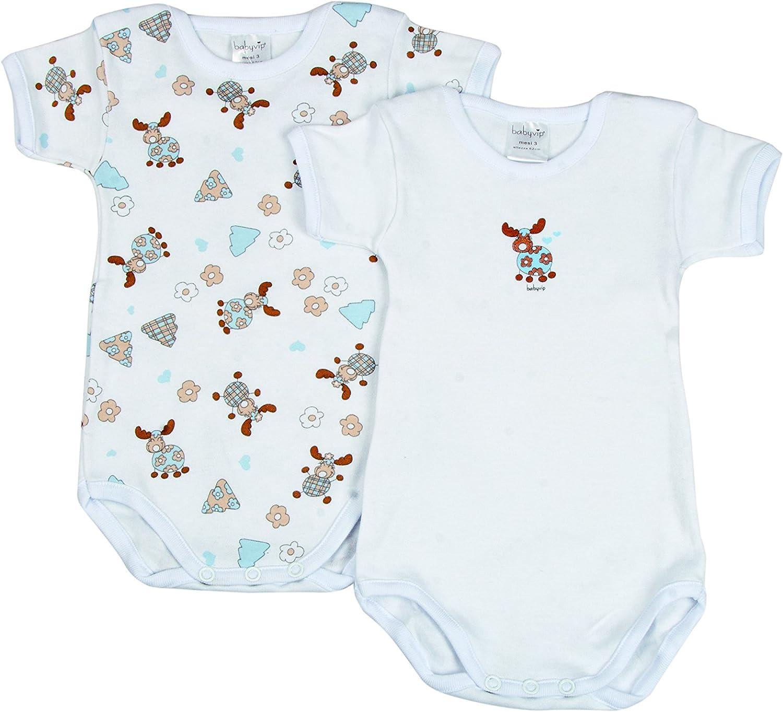 100/% Cotone Body per Bambino Stampa Animali Ideale per linverno Cotone Caldo BabyVip
