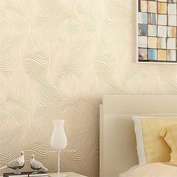 Hu0026M Tapete Vlies Persönlichkeit Abstrakte 3D Kurve Linien Tapete Dekoration  Schlafzimmer TV Wand Wohnzimmer Tapete