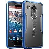 Cover per LG Nexus 5X , SUPCASE [Unicorn Beetle serie] - Design Sportivo - Premium AntiUrto - Custodia Protettiva per LG Nexus 5X (2015) - Nexus 5X (2015) - Google Nexus 5X (2015) - (Ghiaccio/Blu)