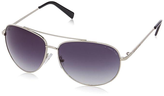 Michael Kors - Gafas de sol Aviador M3403S, 08B Gunmetal ...