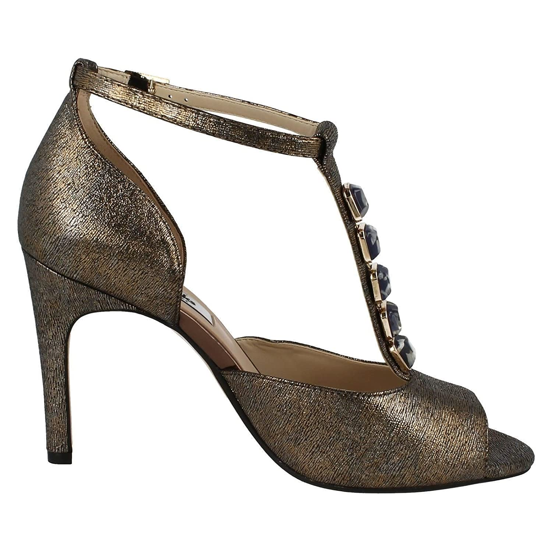 Clarks Ladies T Bar Occasion Wear Sandals Curtain Crush Amazonco Inside Jaylinn Navy Shoes Bags