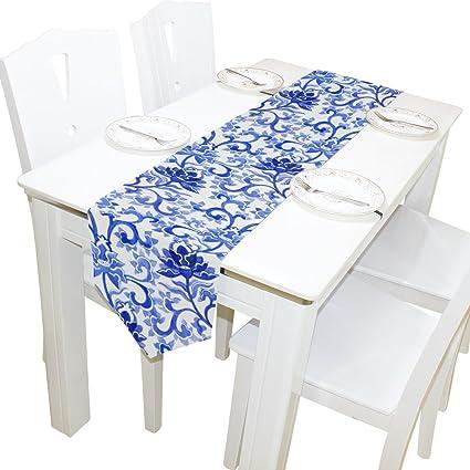 29e4c7de9248 Amazon.com  ALAZA Table Runner Home Decor