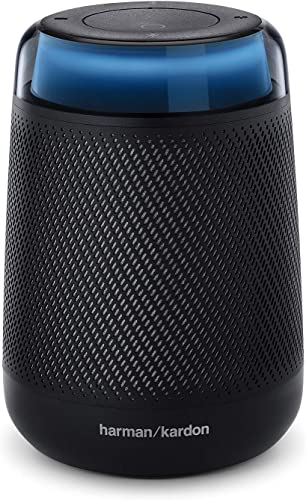 Harman Kardon Allure Portable Portable Alexa Voice Activated Speaker,Black