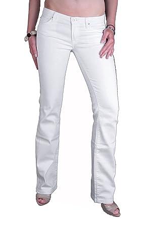 7 For All Mankind Damen Jeans Hose (Weiß, W28 L34)  Amazon.de ... c32933c168