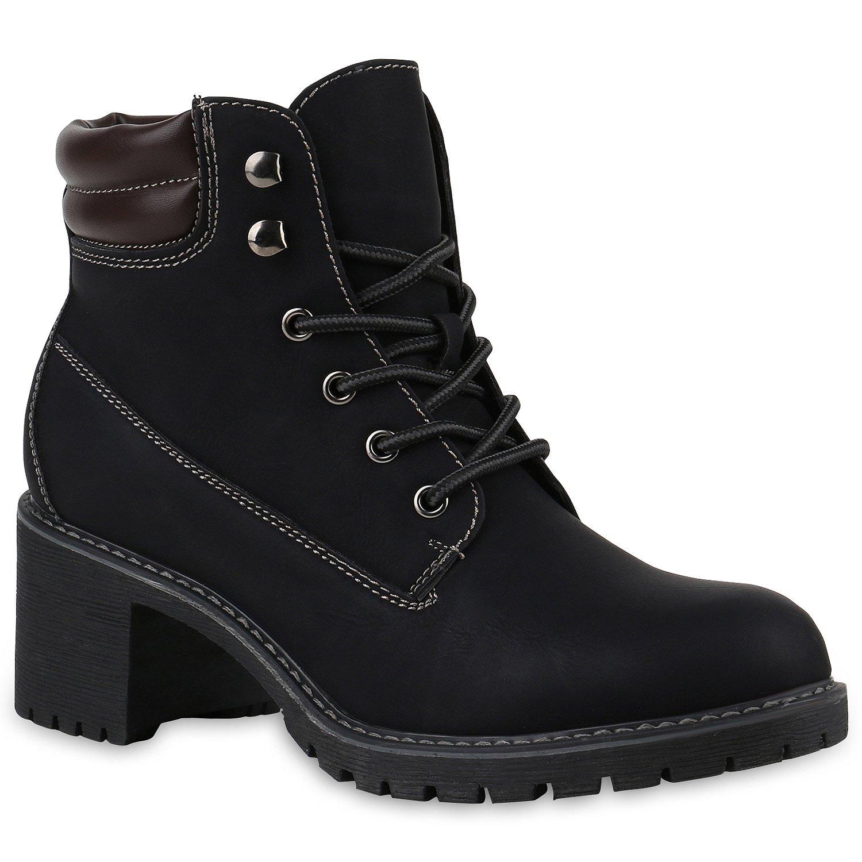 Damen Outdoor Schnürstiefeletten Worker Boots Schuhe 144536 Hellbraun Berkley 37 Flandell Oc3hyhLz
