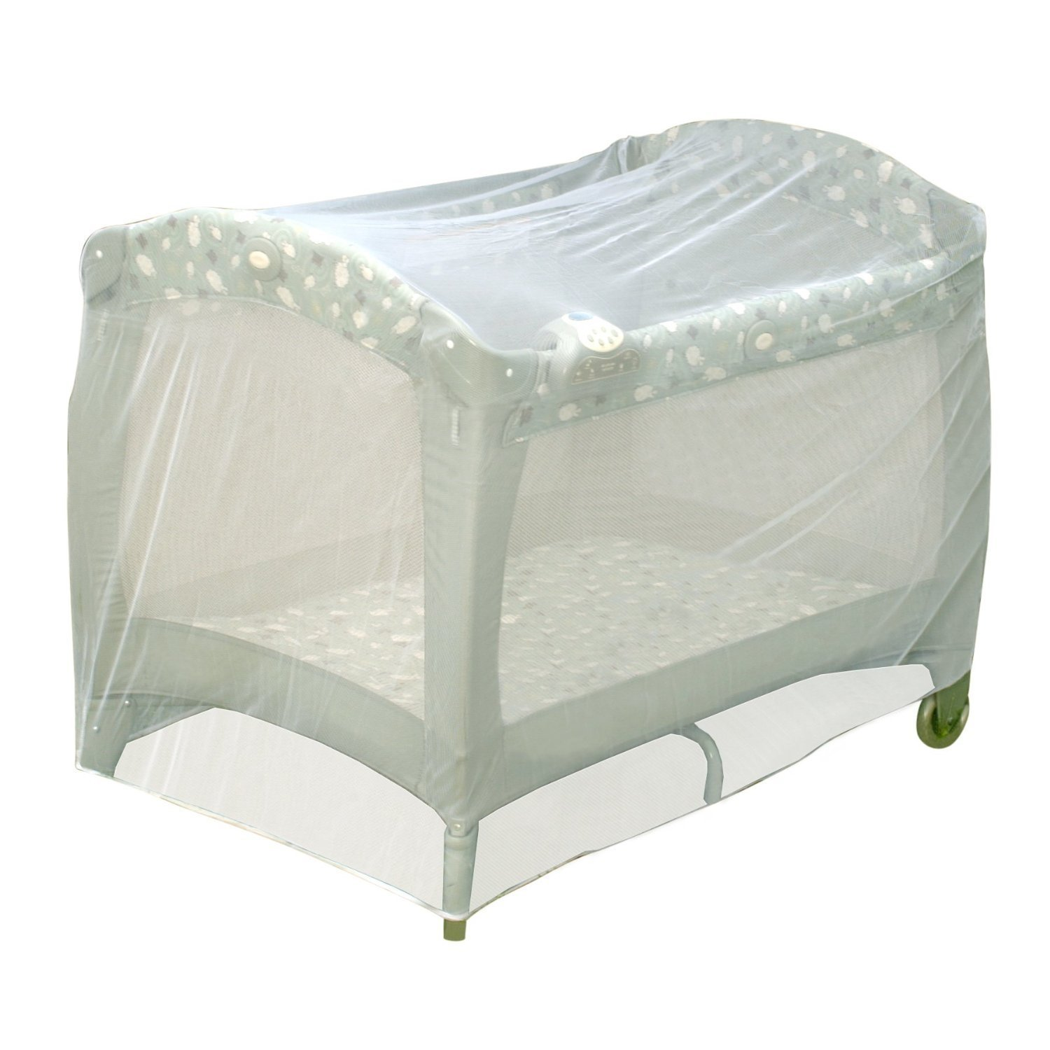 Amazon.com : Baby Crib Tent Safety Net Pop Up Canopy Cover