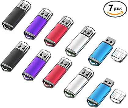 Logo removed. Guaranteed 100/% Formatted Tested Lot of 5 USB 2GB flash drives