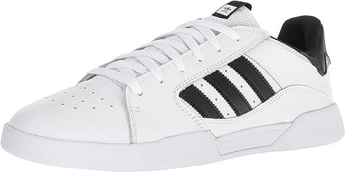 adidas Originals Men's VRX Low Skate Shoe, BlackWhite, 9 M