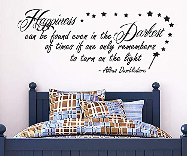 Splatter Harry Potter illustration Wall Art ART PRINT Albus Dumbledore Quote