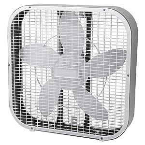Holmes HBF2002A-WTU 20 Inch Box Fan, White