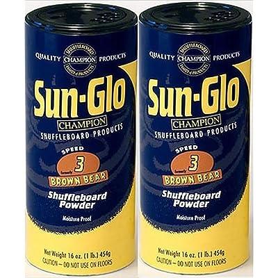 Twin Pack of Sun-Glo #3 Speed Shuffleboard Powder Wax : Sports & Outdoors