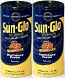 Twin Pack of Sun-Glo #3 Speed Shuffleboard Powder Wax