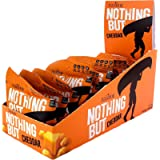 Ivanhoe Nothing But Cheese 100% Canadian Puffed Cheese Snacks (12x18g Bags), Cheddar, 12 Count