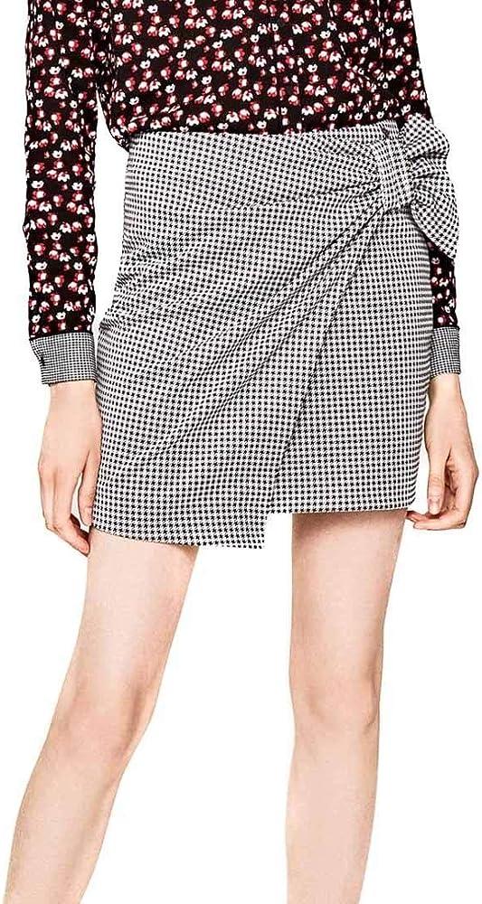 Pepe Jeans - Minifalda Pata DE Gallo Elsa - - Minifalda elástica ...
