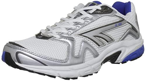 9178c637 Hi-Tec R156, Men's Running Shoes, White/Royal/Gunmetal, 7 UK: Amazon ...