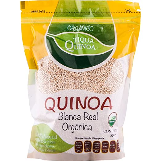 Amazon.com : Tiqua Quinoa Organic White Royal Quinoa, 1.1 Pound : Grocery & Gourmet Food