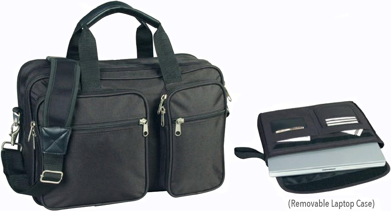 ImpecGear 16.5 Inch Expandable Laptop Case Briefcase Messenger Bag Computer Bag FREE LAPTOP/iPAD SLEEVES CASE