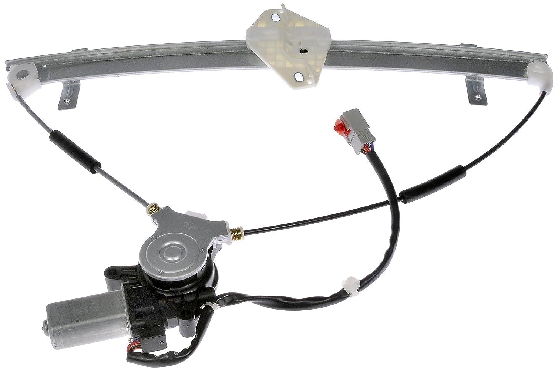 Dorman 741-302 Honda CRV Front Driver Side Window Regulator with Motor Motormite Products 741302DOR