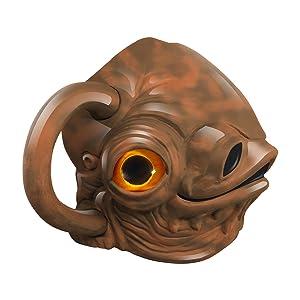 Vandor 56158 Star Wars Admiral Ackbar 20 oz. Premium Sculpted Mug