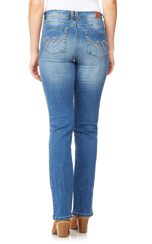 WallFlower Womens InstaStretch Legendary Classic Fit Bootcut Jeans