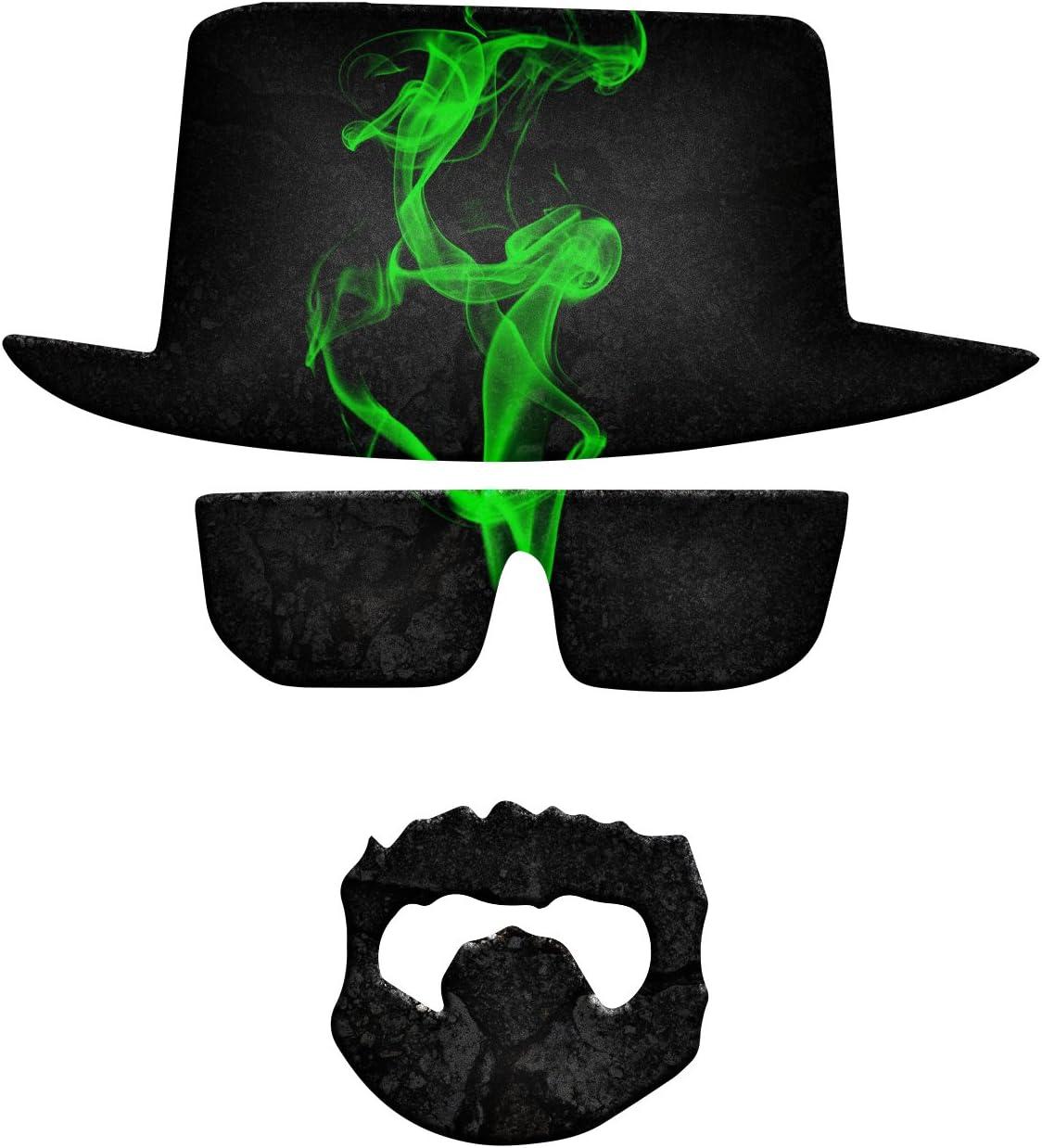 "Bargain Max Decals Breaking Chemistry Bad Green Smoke Heisenberg Window Laptop Car Sticker 6"""