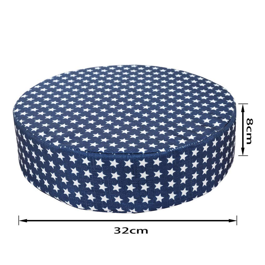 Maxpex Baby Kids Booster Seat for Dining Chair Heightening Cushion Portable High Chair Pads Thick Chair Increasing Round Toddler Cushion for Baby Kids Dismountable Round Cushion E