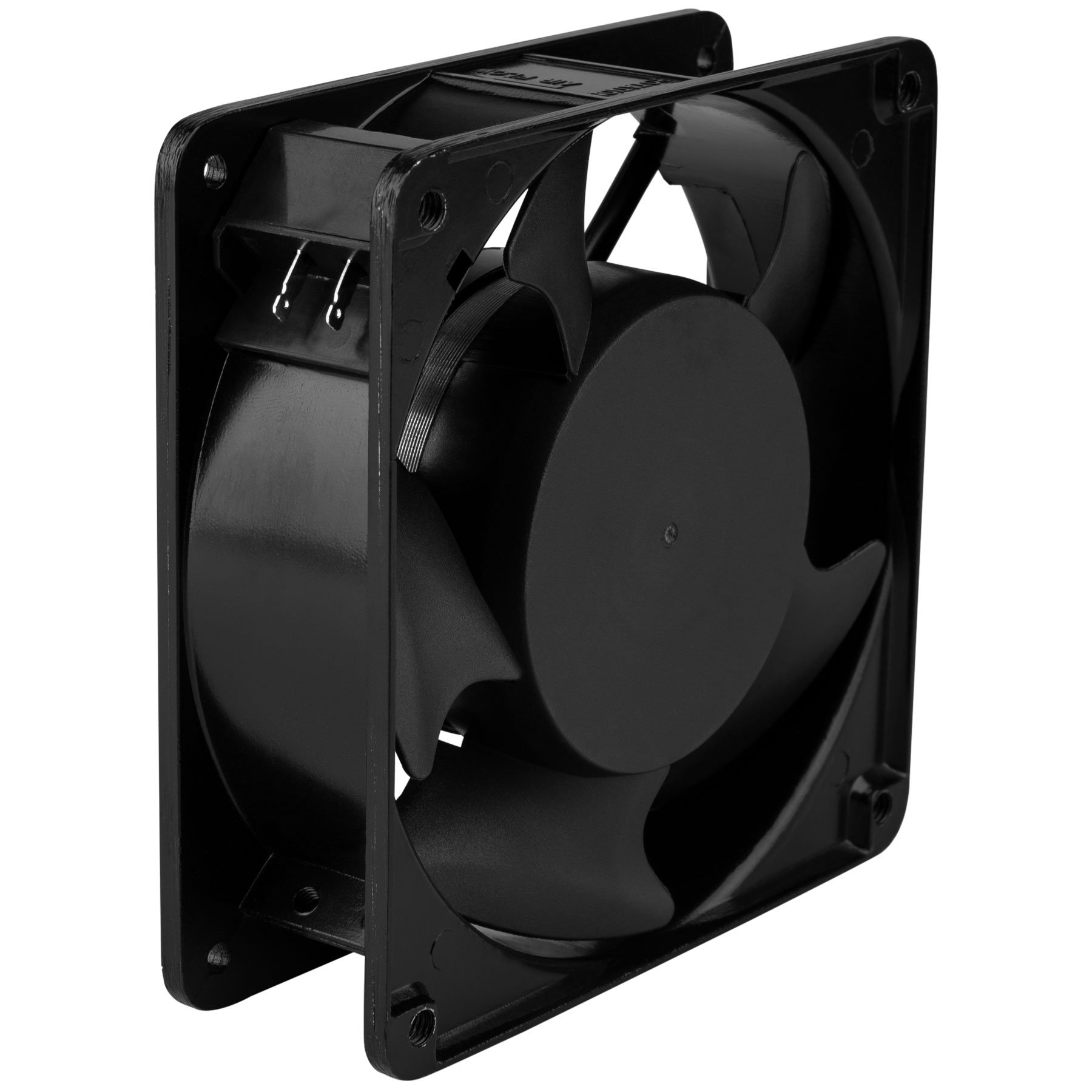 Parts Express Muffin Style Axial Cooling Fan 120 VAC 120 x 120 x 38mm 100 CFM by Parts Express (Image #3)