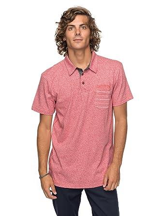 Quiksilver - Camiseta Polo - Hombre - M - Rosa: Amazon.es: Ropa y ...
