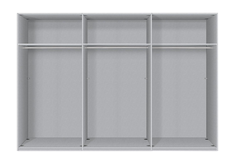Cool Schwebeschrank Dekoration Von Express Möbel One310 3-türiger Schwebeschrank, Holzdekor, Platin-eiche,