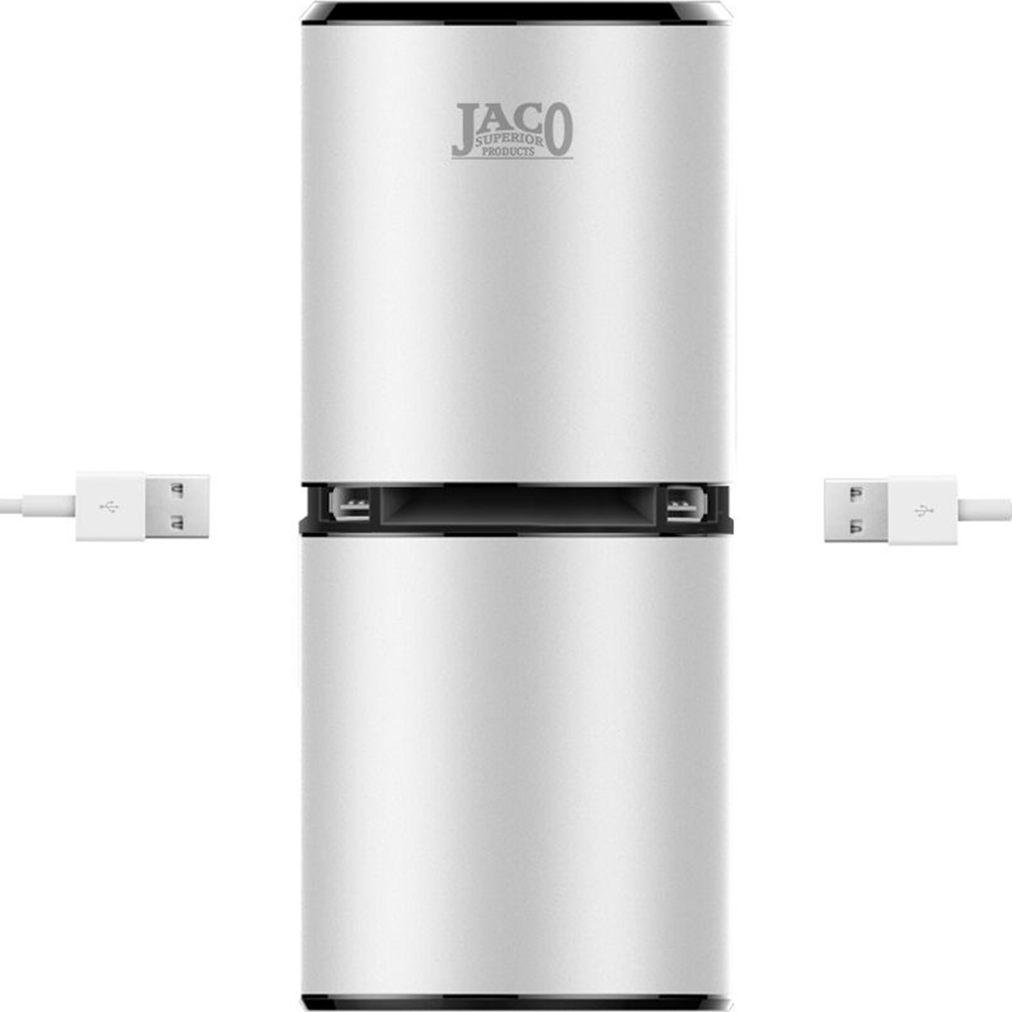 JACO PurePro Ionizer - Portable Ionic Air Purifier with Dual USB Ports